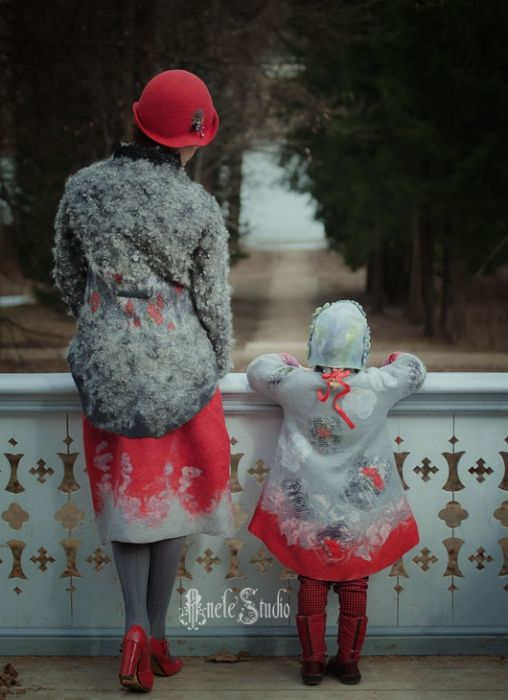Felt for mother and doughter