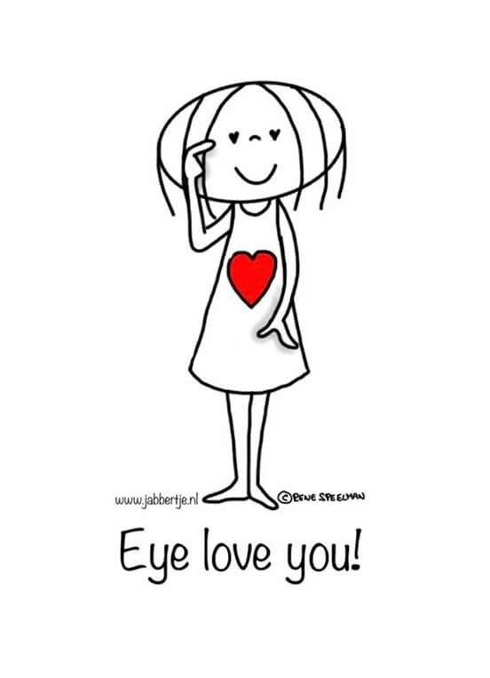 Eye love you...