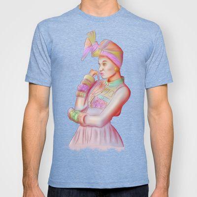Afro Beauty T-shirt by Daniac Design - $22.00