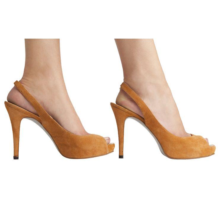 Peep toes Lagart ante marrón MAS34 http://www.mas34shop.com/tienda/lagart-ante-marron/