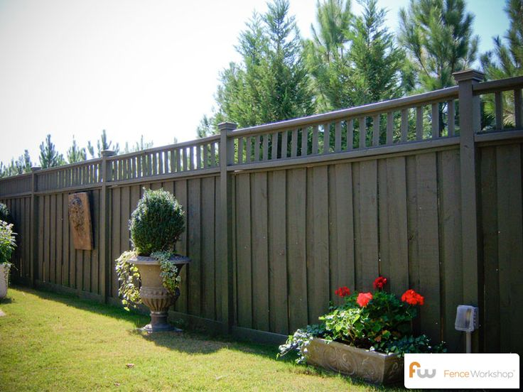 The Talmedge TM Wood Privacy Fence