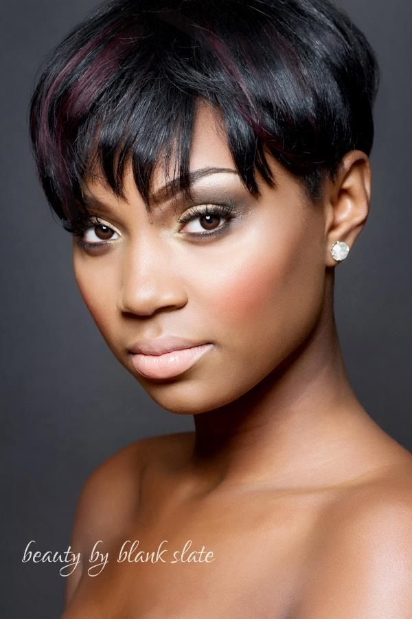 bridal makeup for dark skin, african american bridal ...