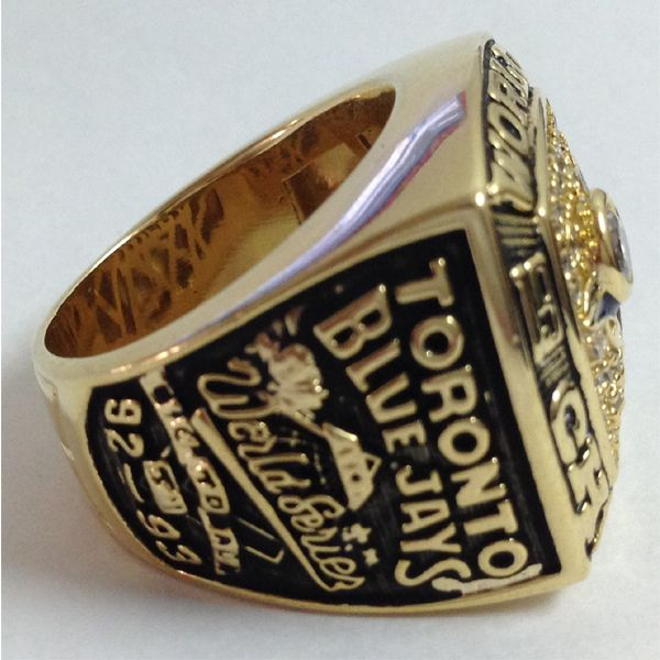 New 1993 Toronto Blue Jays World Series Championship Ring Replica Ring,
