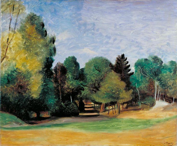 Andre Derain: Landscape near Barbizon (1922)