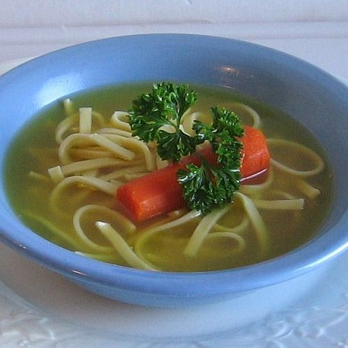 Polish-American Weddings Mean Feasting for Days: Chicken Noodle Soup - Rosol z Kury i Kluski