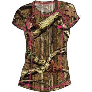 Mossy Oak Women's Athletic T-Shirt, Mossy Oak Infinity