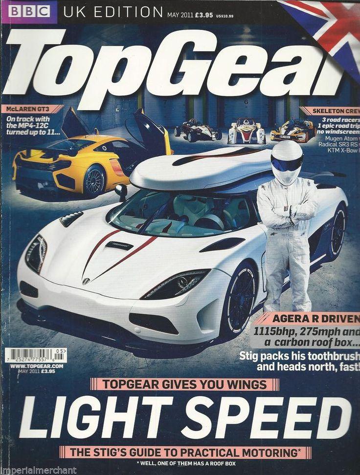 Top Gear auto magazine