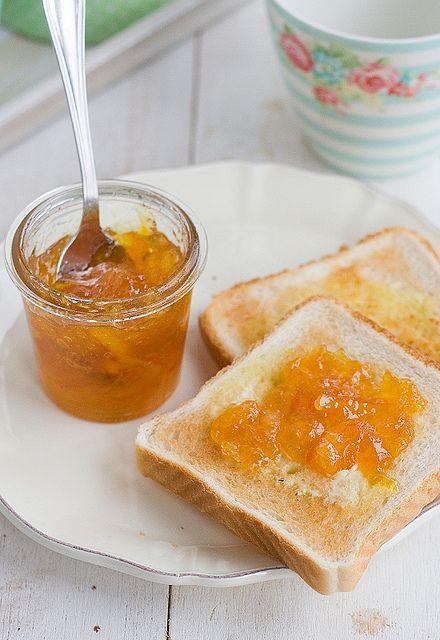 Receta de mermelada de naranja y romero