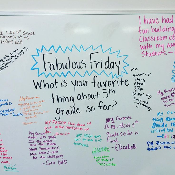 Friday whiteboard prompt: fabulous