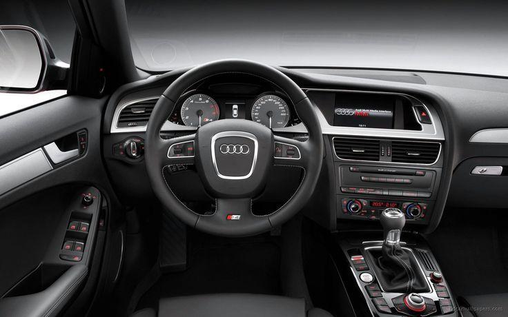 2009 Audi S4 Interior Wallpaper   HD Car Wallpapers