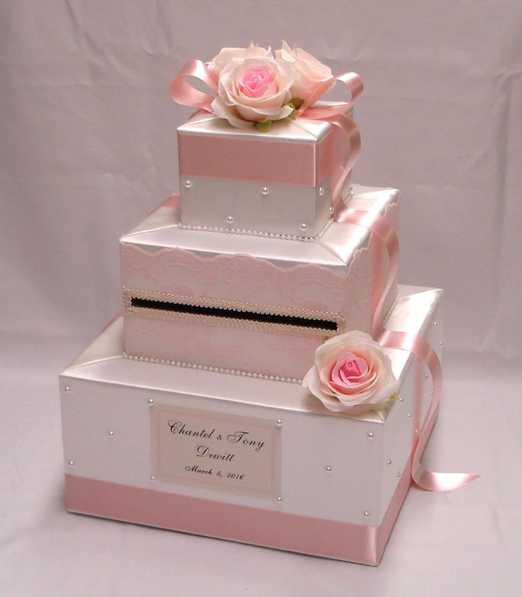 Ivory/Blush Pink Card Box-Lace , Rose , Pearl accents by ExoticWeddingBoxes on Etsy https://www.etsy.com/listing/241813529/ivoryblush-pink-card-box-lace-rose-pearl