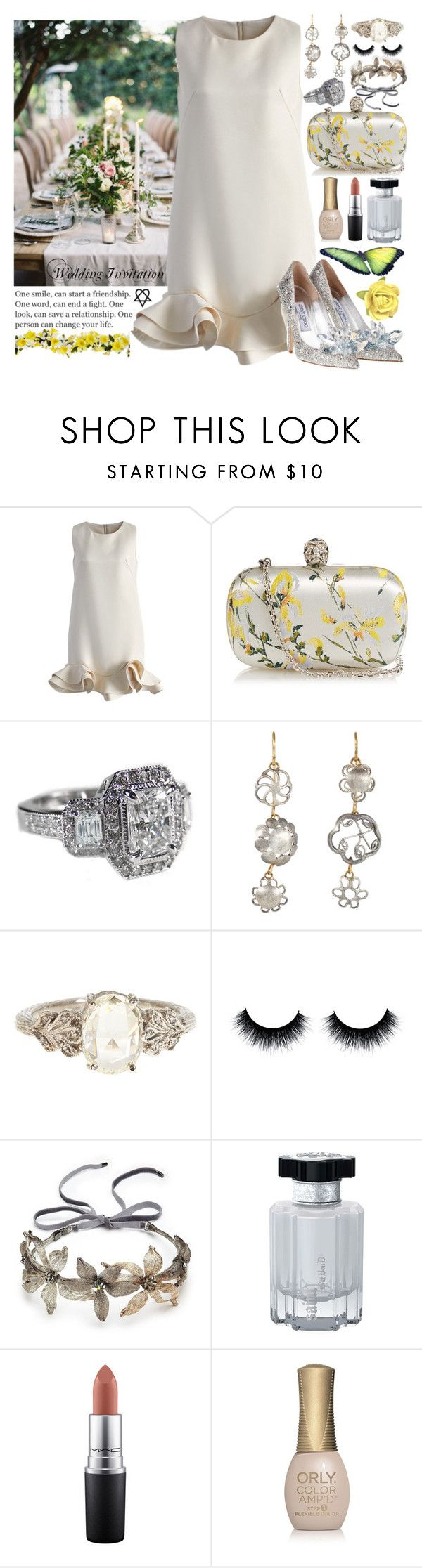 """""""759. One Person Can Change Your Life!"""" by khaosprincess ❤ liked on Polyvore featuring Reception, Chicwish, Alexander McQueen, Judy Geib, Cathy Waterman, Colette Malouf, Kat Von D, MAC Cosmetics and ORLY"""