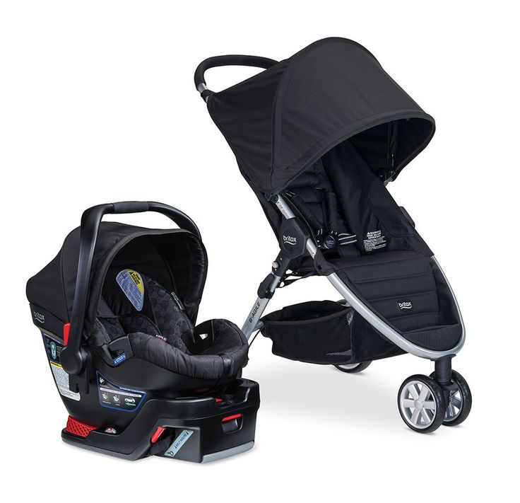 Britax B Agile Travel System Tan