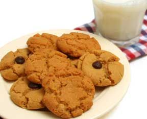 Gluten free peanut butter chocolate chip cookies with agave nectar! Yum!Free Cookies, Best Recipe, Recipe Cards, Cookies Recipe, Gluten Free, Peanut Butter Cookies, Peanutbutter Cookies, Free Peanut, Gluten Fre Recipe