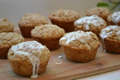 Muffiny s jablky / Apple Fritter Muffins