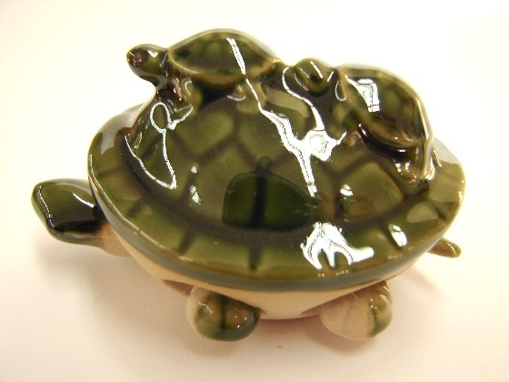 Feng Shui Green Turtle Statues