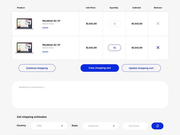 Shopping Cart - Shopify by Marcin Czaja