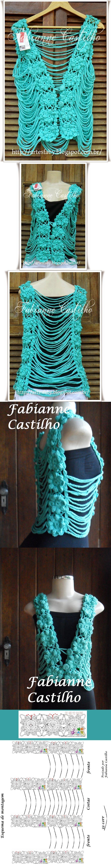Fabianne Castilho: Colete Katia