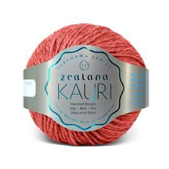 Zealana KAURI Worsted K09 Rata Red