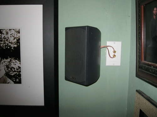 the 25 best hiding speaker wires ideas on pinterest hide cable cords cable cover and. Black Bedroom Furniture Sets. Home Design Ideas