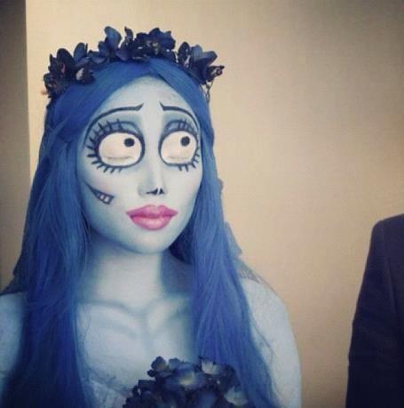 Emily Corpse Bride Makeup Tutorial Halloween Costumes