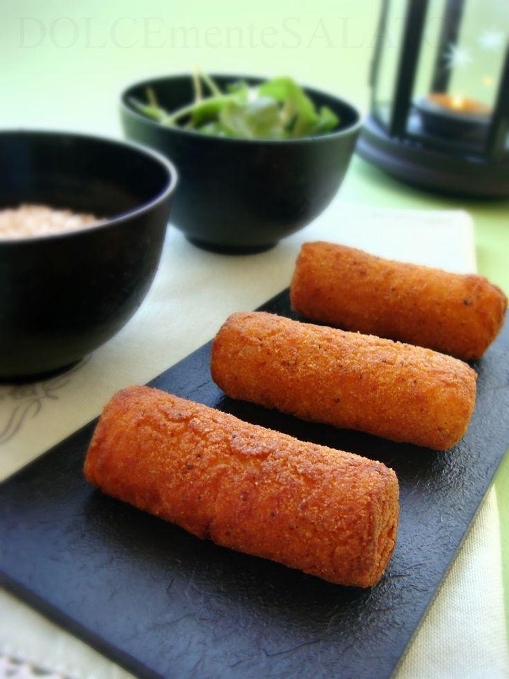 DOLCEmente SALATO: Crocchette di patate e riso