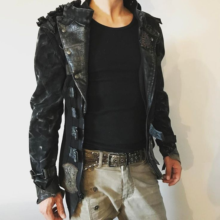 EvilEve Jacket Men Fashion....#leather #igslovenia #evilevedesign #evileve #jacket #mensfashion