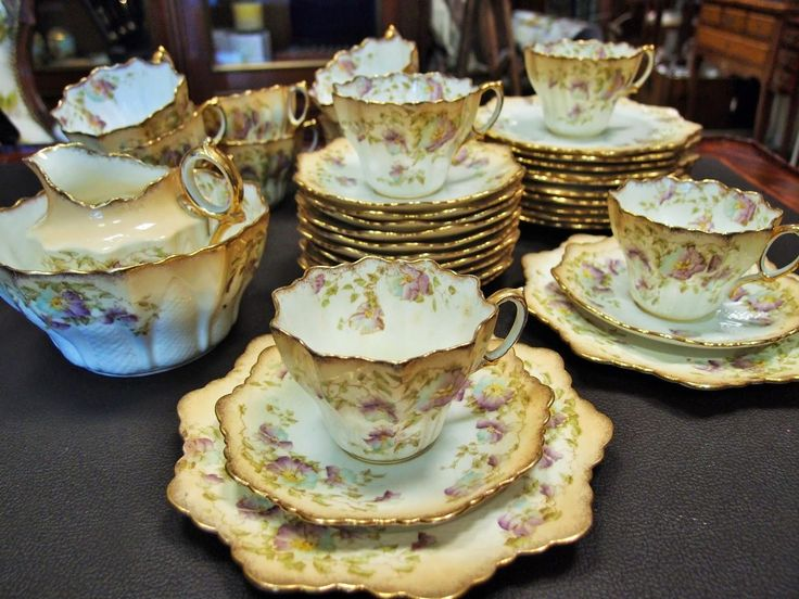 english tea set 1904