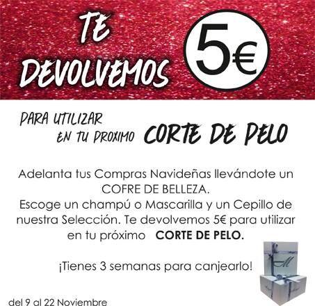 NUEVA PROMOCIÓN desde hoy en Madrigal Peluquerías Zielo Shopping Pozuelo. Adelanta tus Compras Navideñas llevándote un COFRE DE BELLEZA.  Escoge un champú o Mascarilla y un Cepillo de su Selección, te devuelven 5€ para utilizar en tu próximo CORTE DE PELO. ¡Tienes 3 semanas para canjearlo!  ¡¡A que esperas!! en #PeluqueríaMadrigal #Zielo