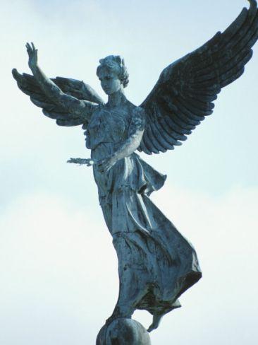 Angelic Statue - Montreal, Quebec, Canada