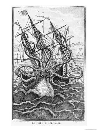 Colossal Octopus Shipw...