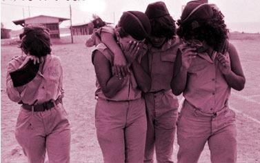 October war Yom Kippur war حرب اكتوبر Israel women soldiers after the defeat