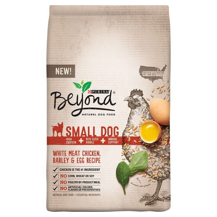 Purina Beyond Small Breed Formula Chicken, Oatmeal and