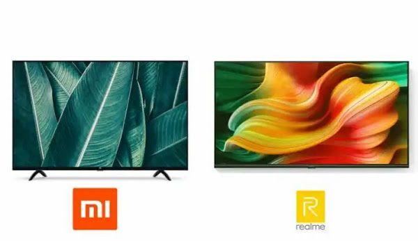 Xiaomi Mi Tv 4a Smart 43 Vs Realme Smart Tv 43 Xiaomi Smart Tv Smart