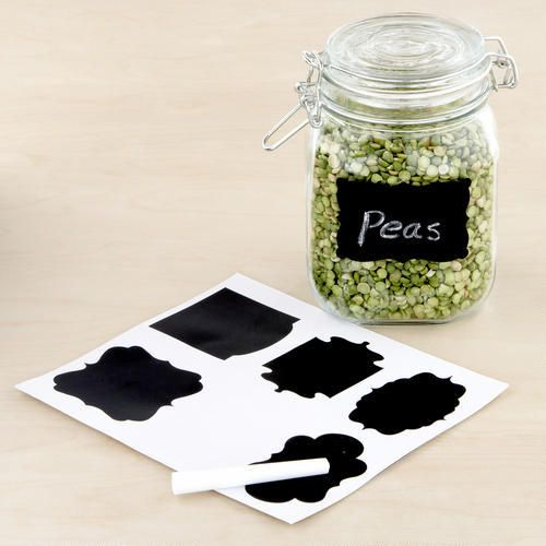 Chalk Board Label Set | World Market: Crafts Ideas, Chalkboard Labels, Worldmarket With Pin, Chalk Boards, Chalk Labels, Labels Sets, Mason Jars, Chalkboards Labels, World Marketing