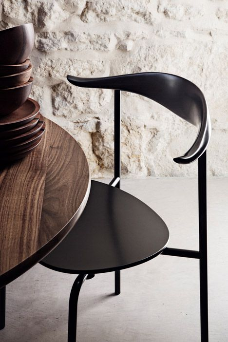 Carl Hansen and Son puts Hans J. Wegners CH88 chair into production. Absolutely beautiful.