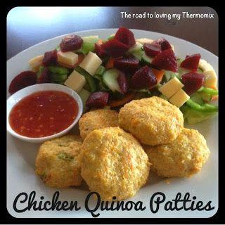 Chicken and Quinoa Patties