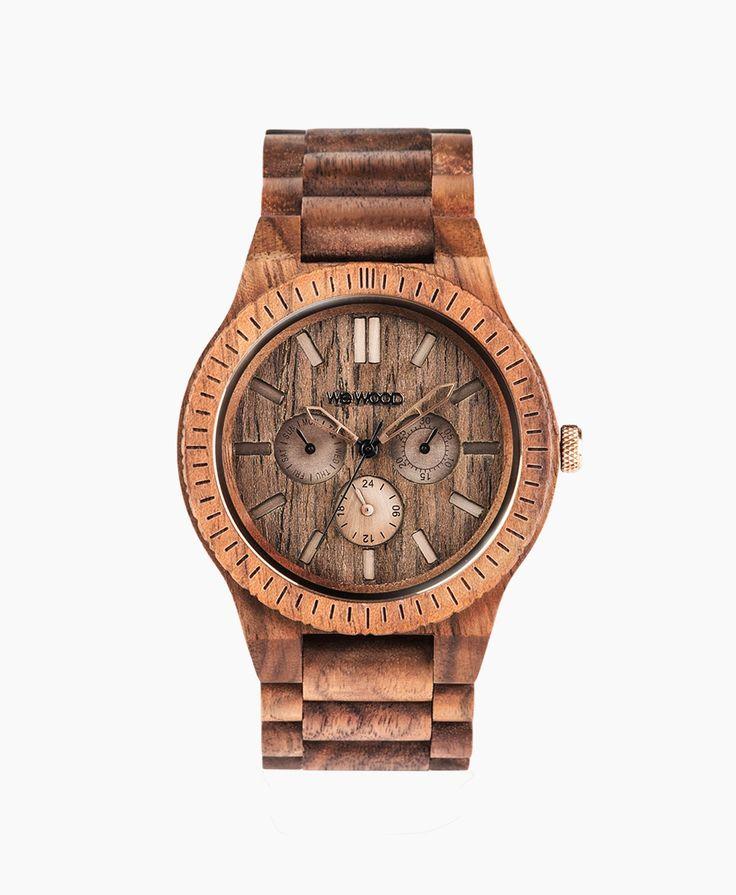 WeWOOD Hodinky KAPPA Nut Brushed, 3890 Kč | Slevy hodinek
