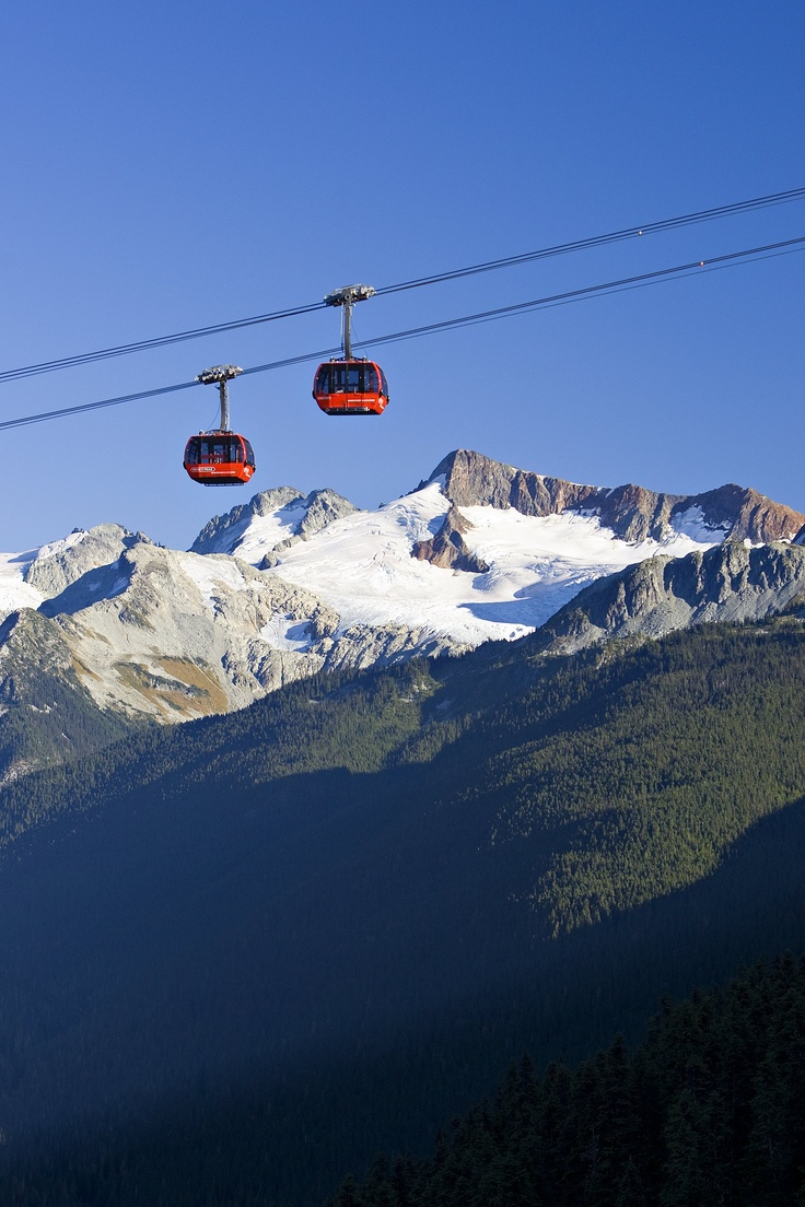 The PEAK 2 PEAK Gondola breaks 3 world records, including longest unsupported span of 3.024 kilometres. Photo: Paul Morrison