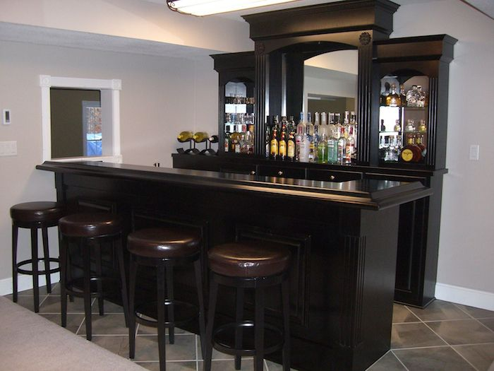 Custom Home Bars | Customizing The Princeton Home Bar | Primo Craft  Furnishings Made In .