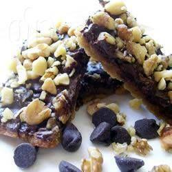 Toffee Walnut Biscuits @ allrecipes.com.au