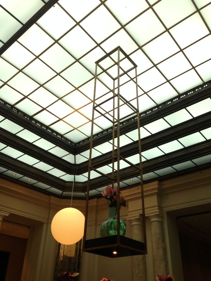 A lobby of grandeur basking in natural light. #biztravel #hotels #roccoforte #berlin