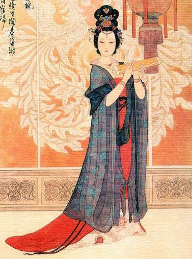 Wu Zetian (624 - 705 AD) China's only female Emperess promoted other women to roles of influence and power, appointing the first female Chinese Prime Minister.                She was also taught how to read, write and play music.