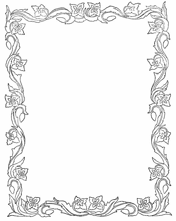 19 best clipart frames and borders images on Pinterest | Doodles ...
