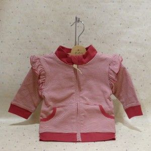 Eeni  Meeni Cardi - in gorgeous deep and pale pink.