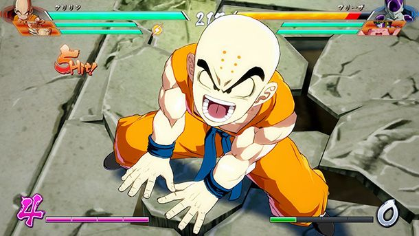 Bandai Namco Releases Collection Of Screens Showing Piccolo And Krillin In Action In Dragon Ball FighterZ