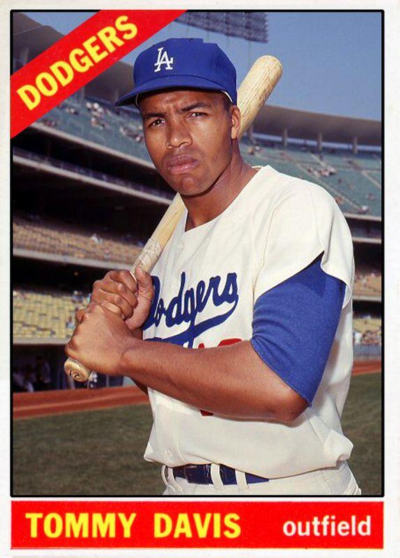1966 Topps Tommy Davis Dodgers La Dodgers Players Pittsburgh Pirates Baseball