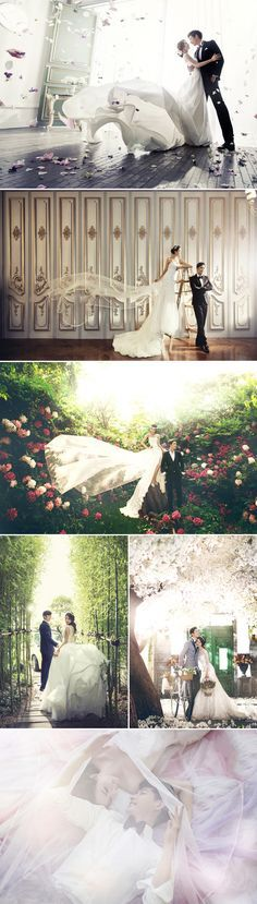 Real Life K-Drama 30 Dreamy Korean Concept Pre-wedding Photos!