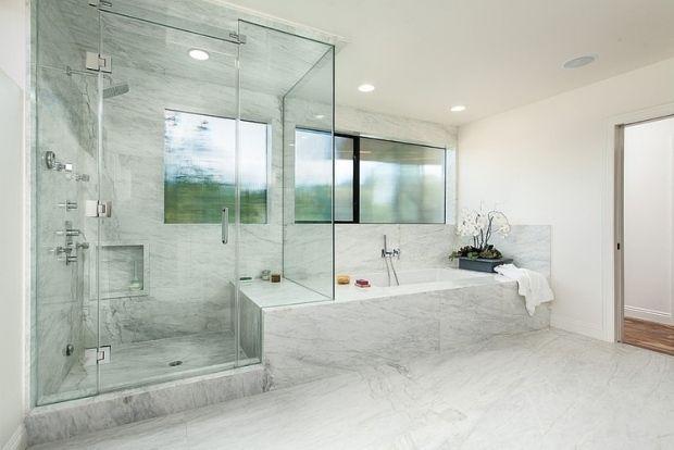 1000 id es sur le th me salles de bains en marbre sur pinterest salle de bains miroirs de. Black Bedroom Furniture Sets. Home Design Ideas