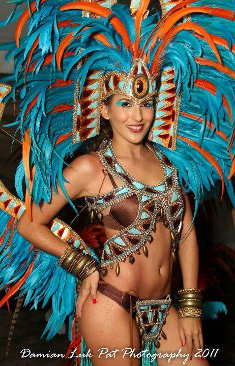 Aztec Costumes   YUMA Trinidad Carnival Costume 2012 azteca Frontline